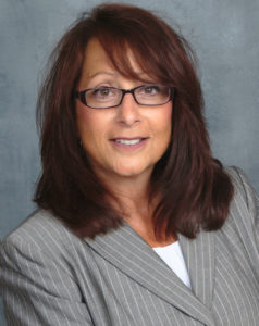 Closeup of Iroquois insurance network consultant Angela Bulan