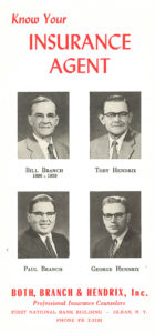 1940s brochure olean nY insurance agency